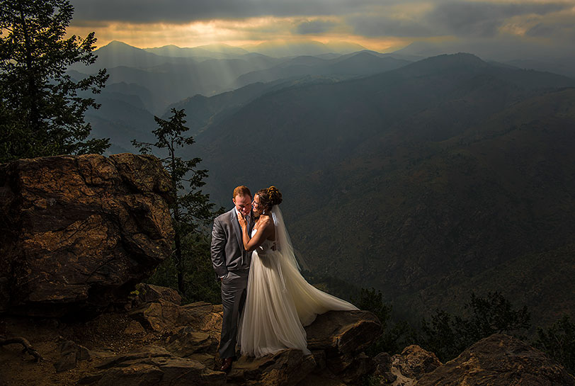 Boettcher Mountain wedding | Denver wedding photographer | J La Plante Photo