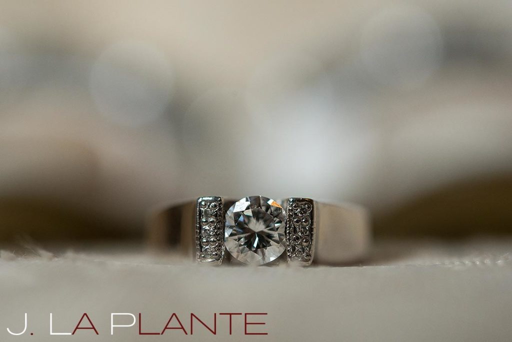 J. La Plante Photo | Brook Forest Inn Wedding | Evergreen, CO wedding photography | Engagement ring