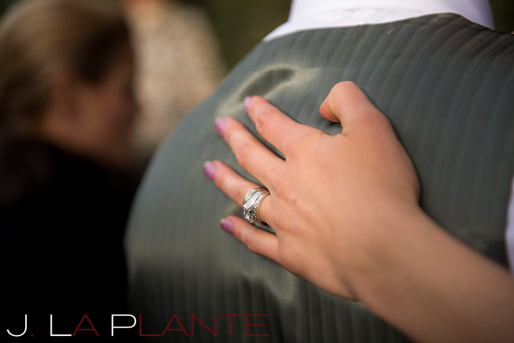 J. La Plante Photo | Brook Forest Inn Wedding | Evergreen, CO wedding photography | Bride's wedding ring