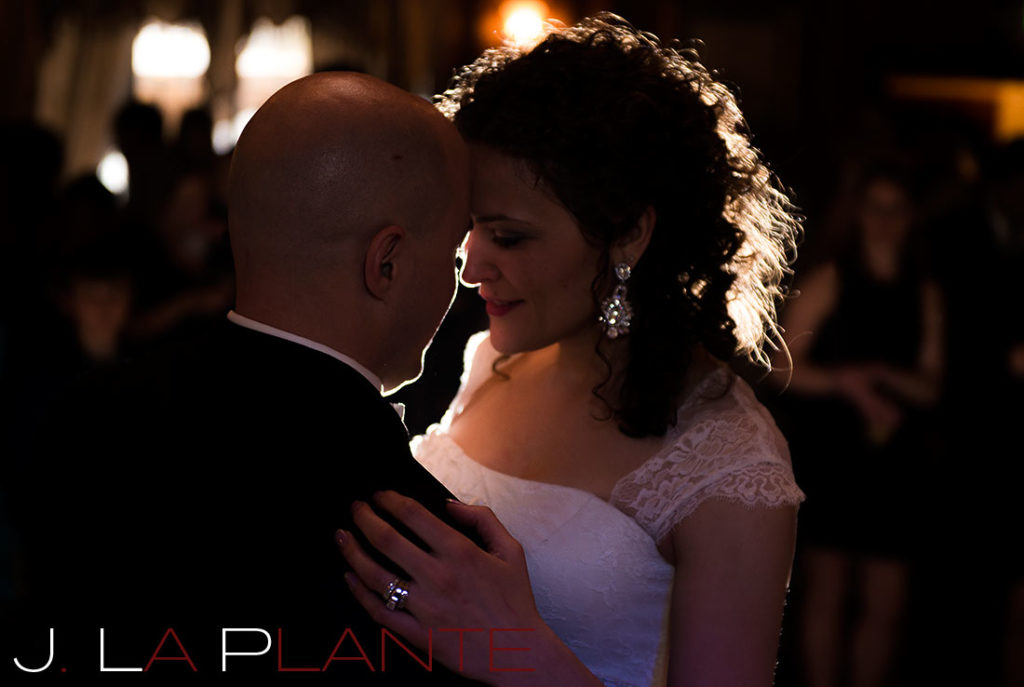 J. La Plante Photo | Brook Forest Inn Wedding | Evergreen, CO wedding photography | First dance