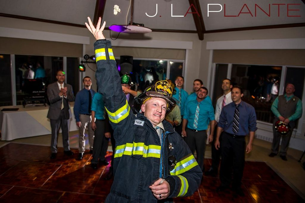 J. La Plante Photo | Kalamazoo Country Club Wedding | Destination Wedding Photography | Garter toss