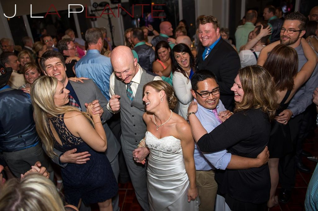 J. La Plante Photo | Kalamazoo Country Club Wedding | Destination Wedding Photography | Bride and groom dancing