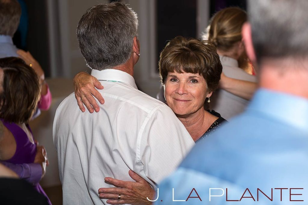 J. La Plante Photo | Kalamazoo Country Club Wedding | Destination Wedding Photography | Bride's parents dancing