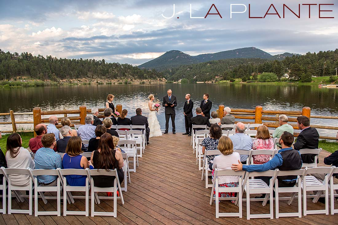 Evergreen lake house wedding j la plante photo for Evergreen house