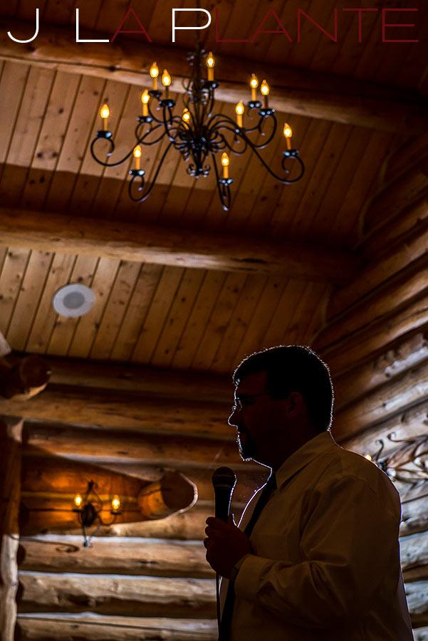 Wedding toasts | Evergreen Lakehouse wedding | Evergreen wedding photographer | J La Plante Photo