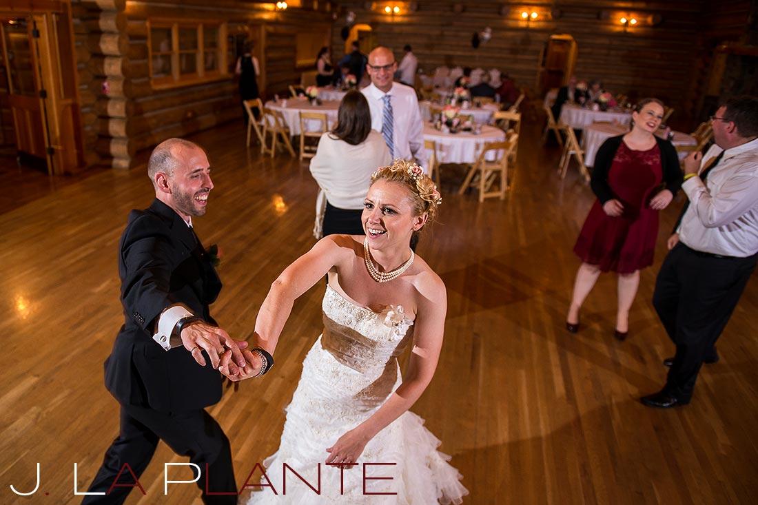 Dance party | Evergreen Lakehouse wedding | Evergreen wedding photographer | J La Plante Photo