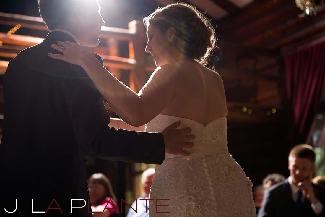 J. La Plante Photo | Colorado Rocky Mountain wedding photography | Estes Park wedding | First dance