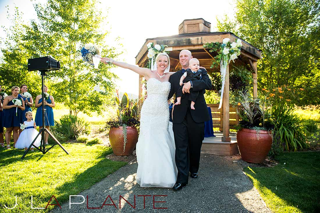 Studios at overland crossing wedding for Denver botanic gardens wedding