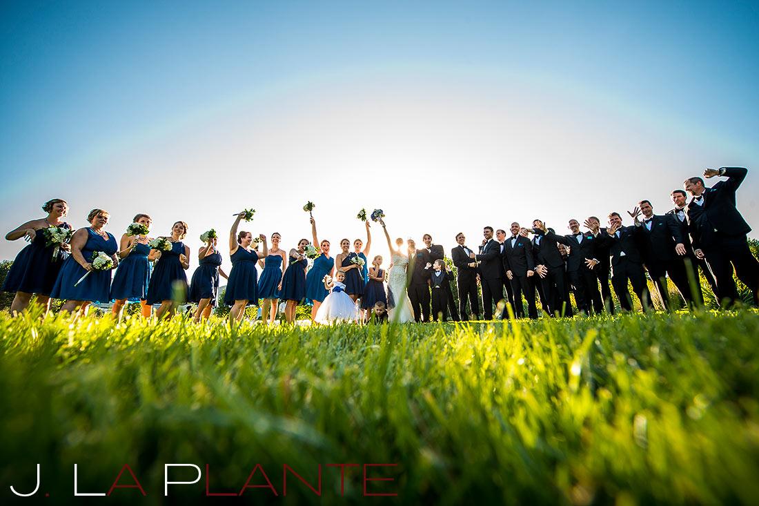 J. La Plante Photo   Denver Wedding Photography   Chatfield Botanic Gardens wedding   Bridal party