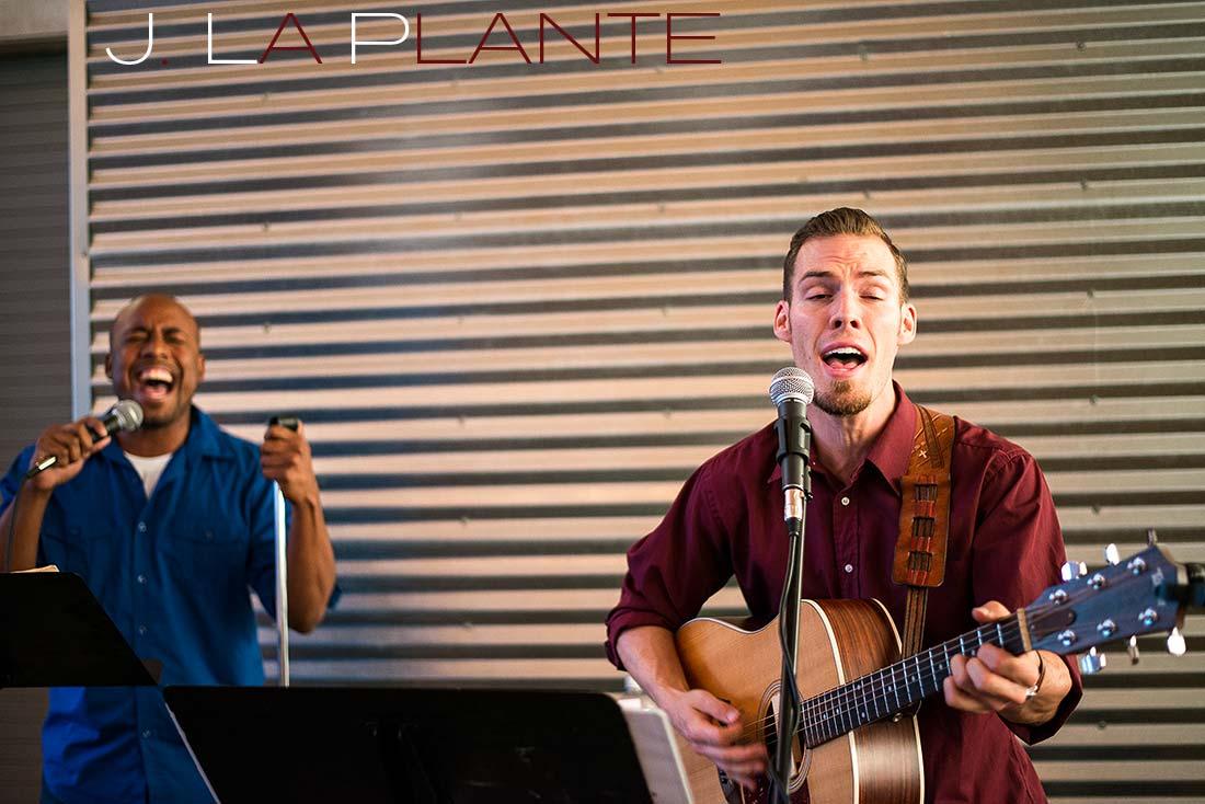 J. La Plante Photo | Denver Wedding Photography | Chatfield Botanic Gardens wedding | Live wedding band
