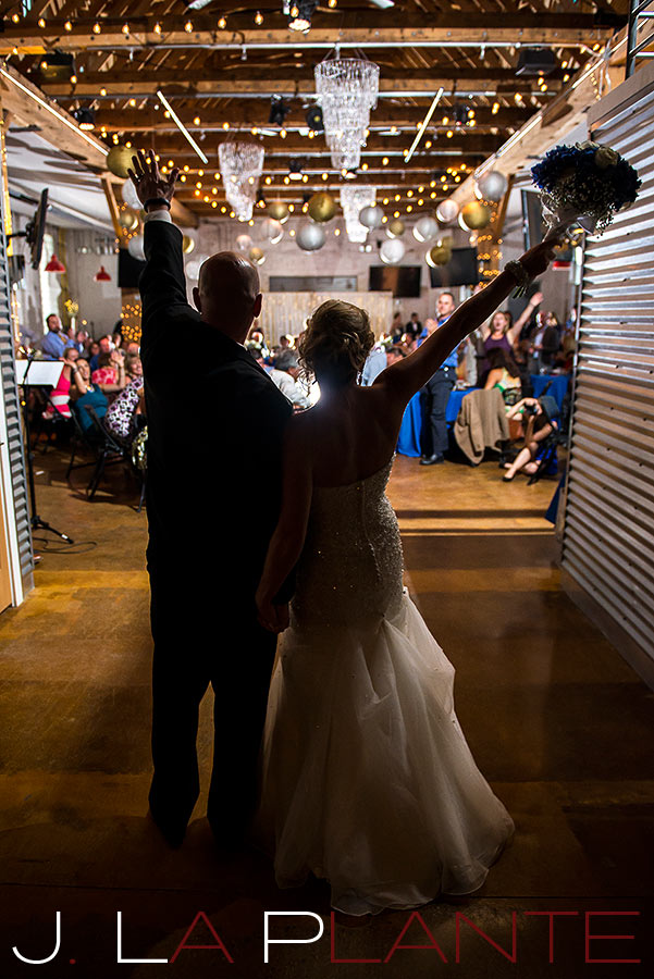 J. La Plante Photo | Denver Wedding Photography | Chatfield Botanic Gardens wedding | Bride and groom announced