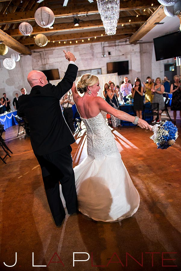 J. La Plante Photo   Denver Wedding Photography   Chatfield Botanic Gardens wedding   Bride and groom announced