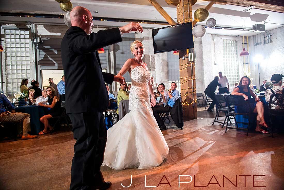 J. La Plante Photo   Denver Wedding Photography   Chatfield Botanic Gardens wedding   First dance