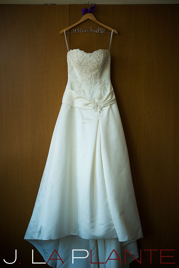 J. La Plante Photo | Denver Wedding Photography | Wildlife Experience wedding | Wedding dress