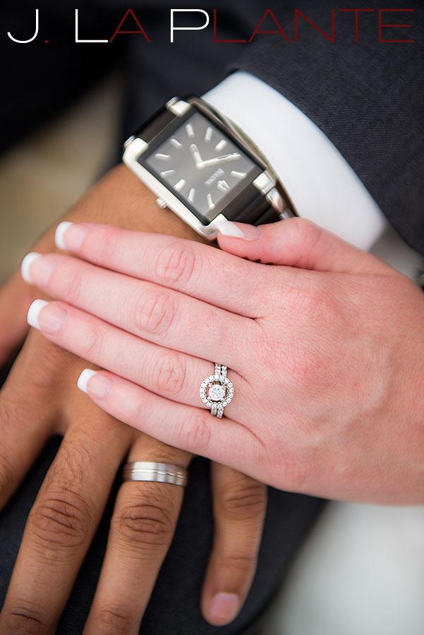 J. La Plante Photo | Denver Wedding Photography | Wildlife Experience wedding | Rings