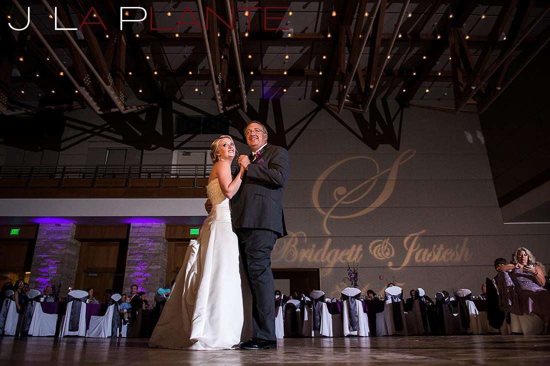 J. La Plante Photo | Denver Wedding Photography | Wildlife Experience wedding | Father of the bride dance