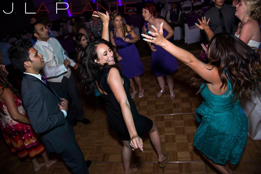 J. La Plante Photo | Denver Wedding Photography | Wildlife Experience wedding | Guests dancing