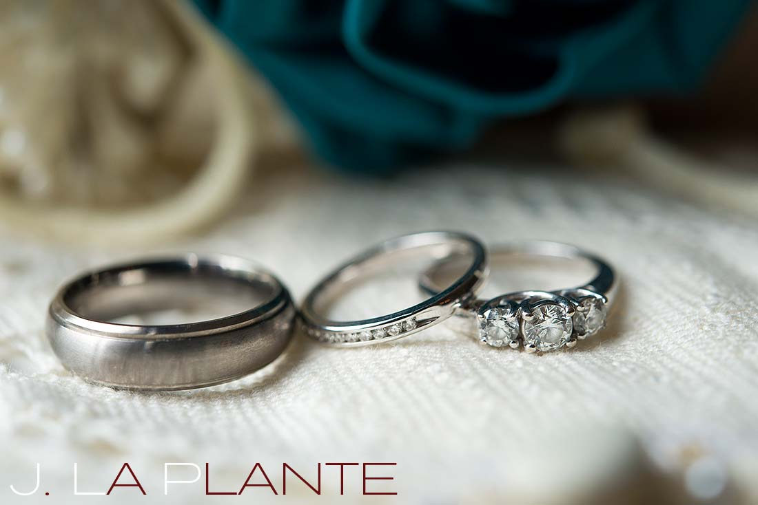 J. La Plante Photo | Colorado Rocky Mountain Wedding Photography | Copper Mountain wedding | Wedding rings