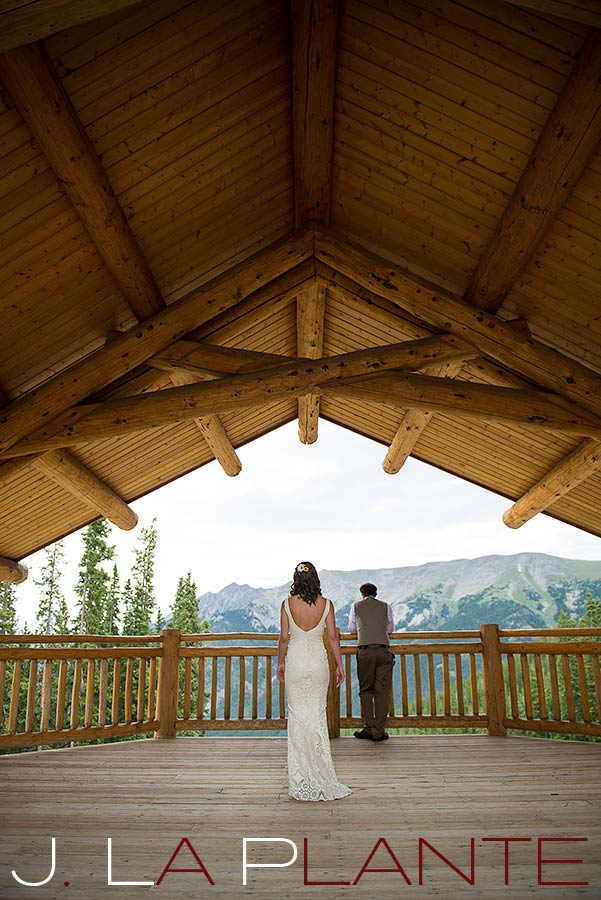 J. La Plante Photo | Colorado Rocky Mountain Wedding Photography | Copper Mountain wedding | First look