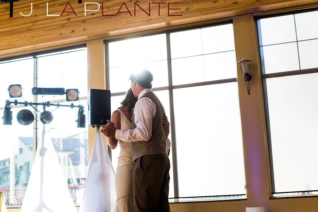 J. La Plante Photo | Colorado Rocky Mountain Wedding Photography | Copper Mountain wedding | First dance