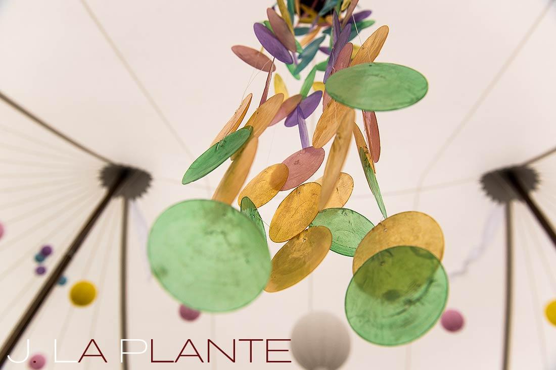 J. La Plante Photo | Destination Wedding Photography | Ogunquit Maine Wedding | Colorful tent decor