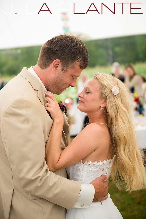 J. La Plante Photo | Destination Wedding Photography | Ogunquit Maine Wedding | First dance