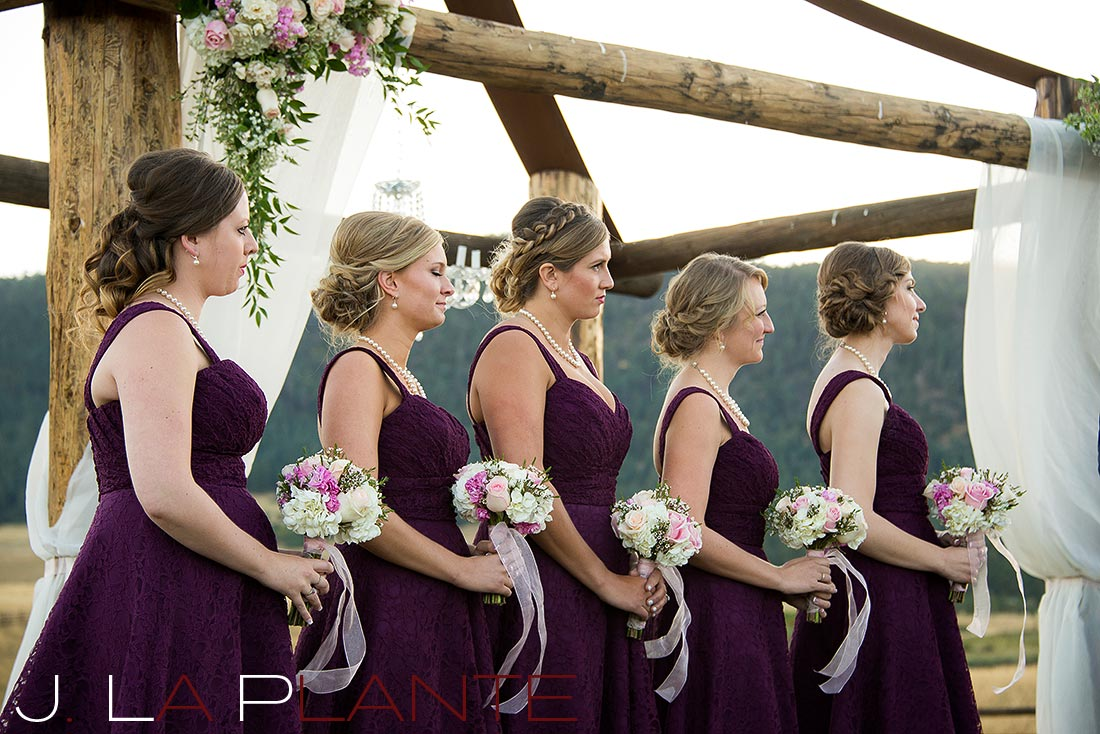 J. La Plante Photo | Colorado Wedding Photography | Spruce Mountain Ranch Wedding | Bridesmaids