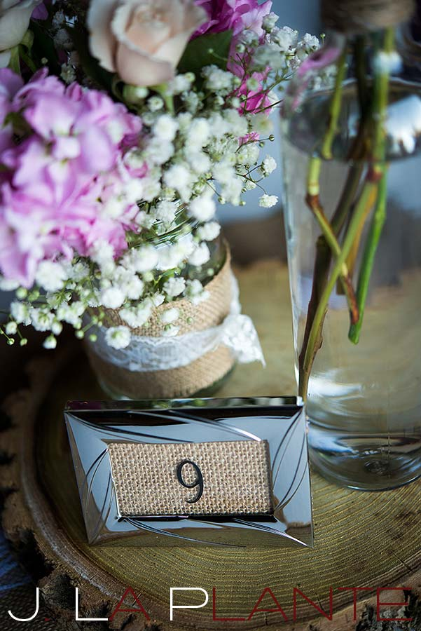 J. La Plante Photo | Colorado Wedding Photography | Spruce Mountain Ranch Wedding | Table setting