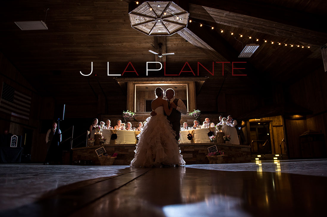 J. La Plante Photo | Colorado Wedding Photography | Spruce Mountain Ranch Wedding | First dance