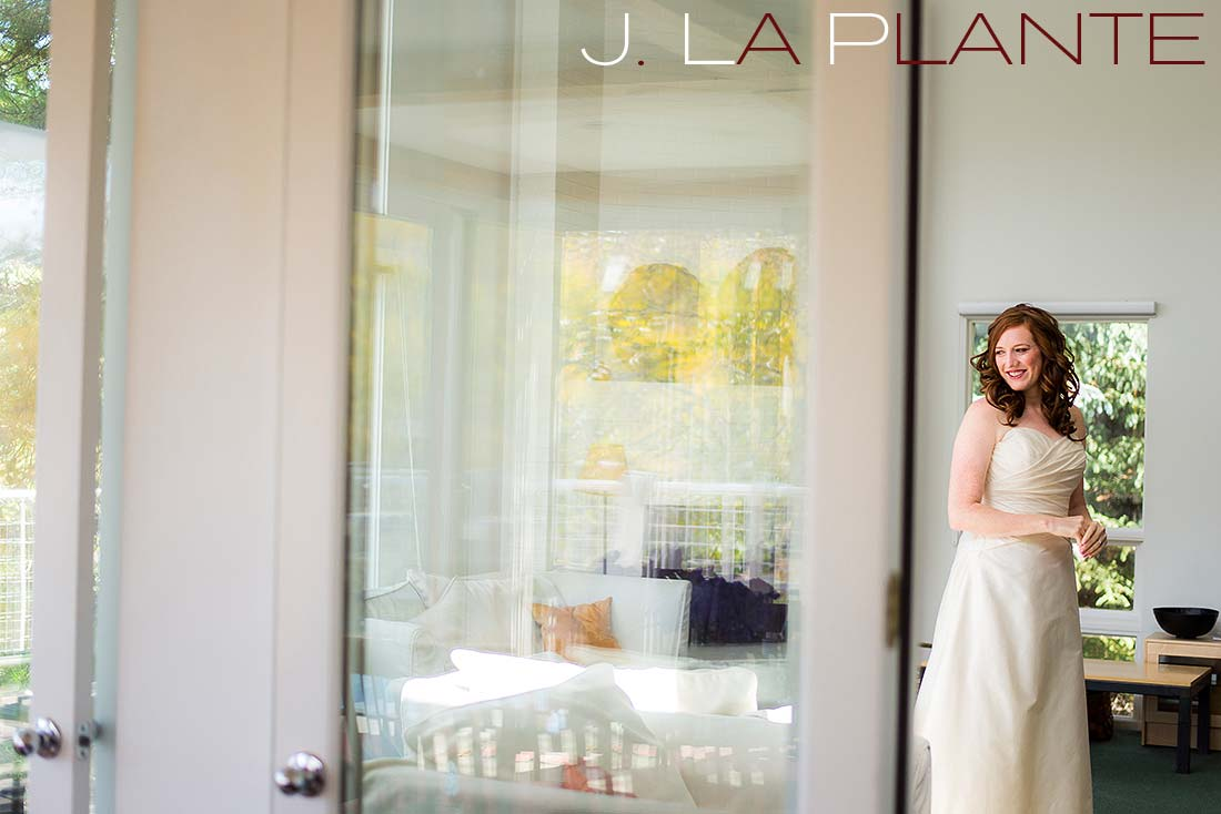 J. La Plante Photo | Aspen Wedding Photography | Aspen Meadows Resort Wedding | Bride in wedding dress