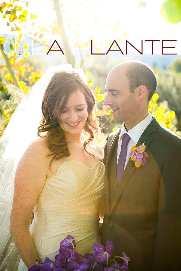J. La Plante Photo | Aspen Wedding Photography | Aspen Meadows Resort Wedding | Groom looking at bride