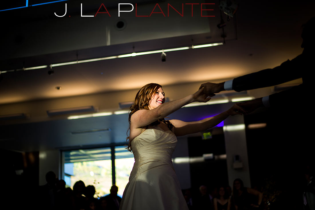 J. La Plante Photo | Aspen Wedding Photography | Aspen Meadows Resort Wedding | First dance