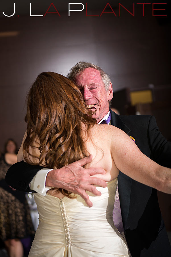 J. La Plante Photo | Aspen Wedding Photography | Aspen Meadows Resort Wedding | Father/daughter dance