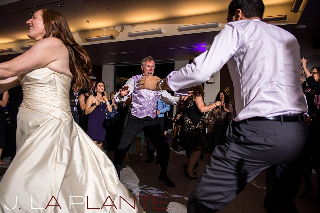J. La Plante Photo | Aspen Wedding Photography | Aspen Meadows Resort Wedding | Dancing the hora