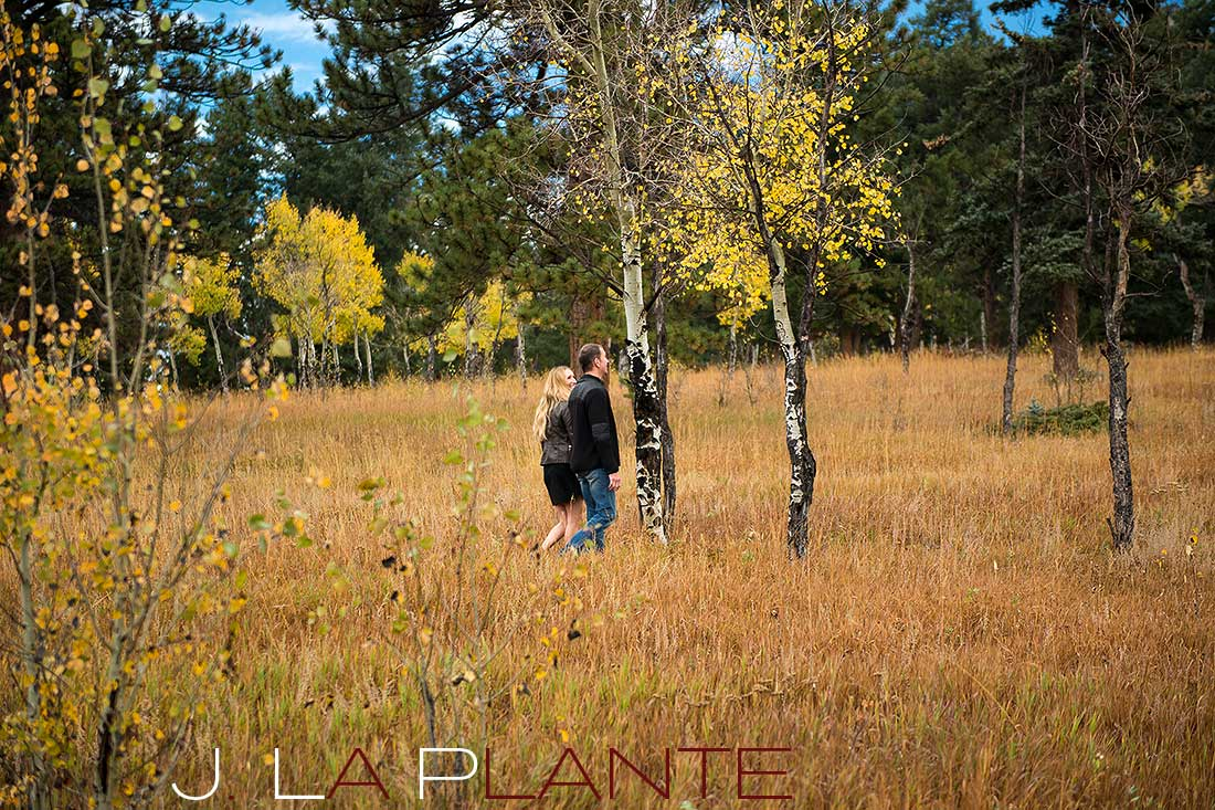Golden Gate Canyon State Park Engagement | J. La Plante Photo