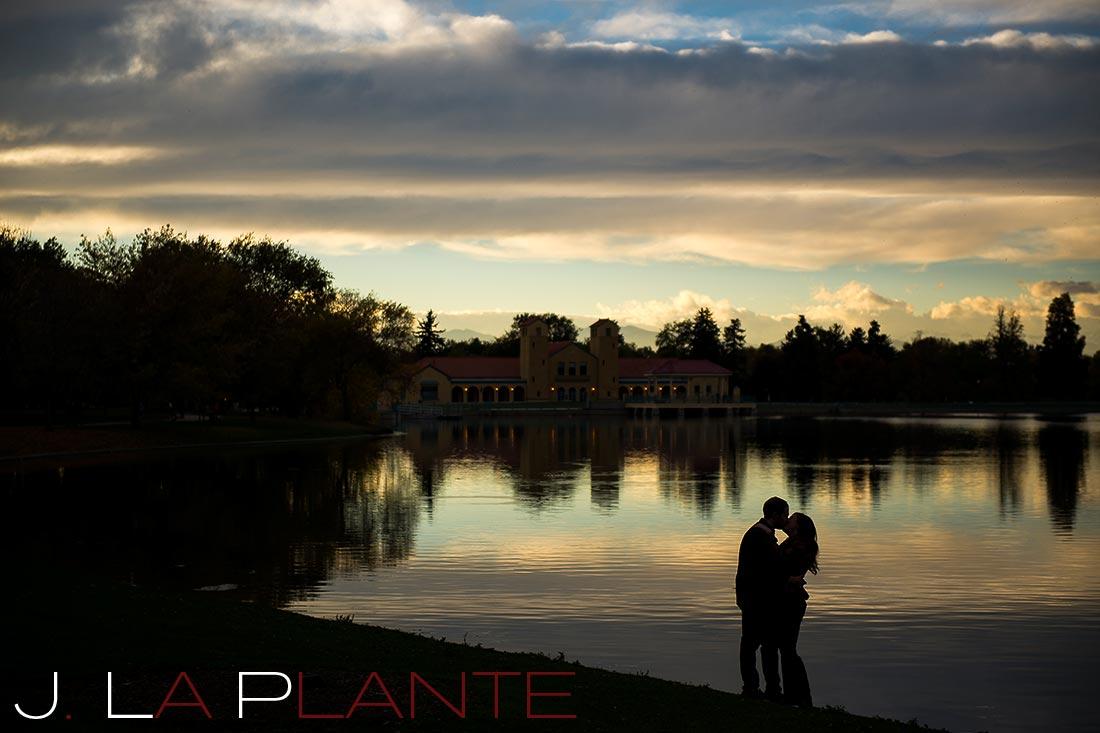 Denver City Park Engagement   Denver Engagement Photography   J. La Plante Photo