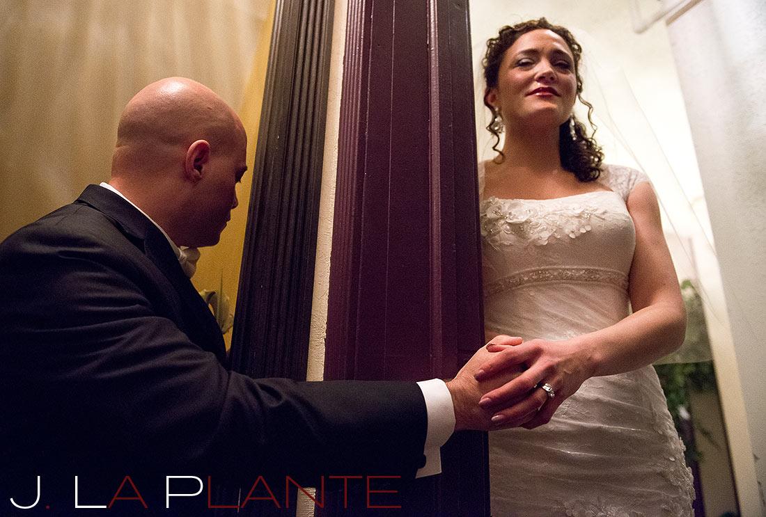 J. LaPlante Photo   Evergreen Wedding Photographer   Brook Forest Inn Wedding   Anticipation Prayer Photo