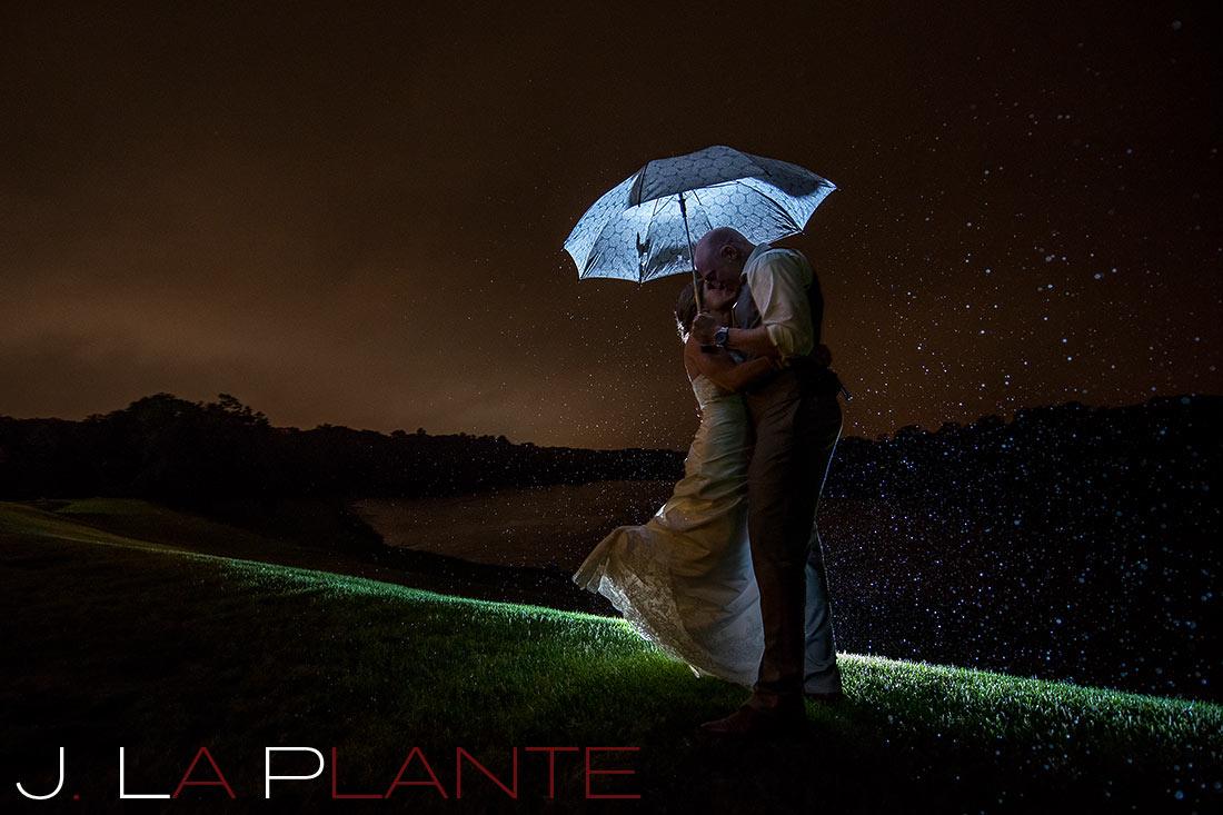 J. LaPlante Photo   Kalamazoo Wedding Photographer   Kalamazoo Country Club Wedding   Wedding Umbrella Photo