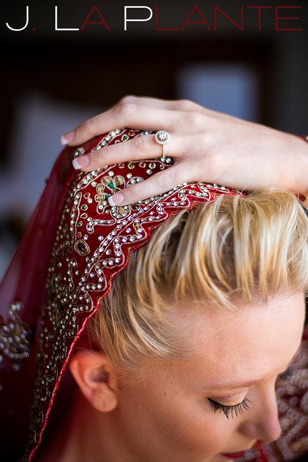 J LaPlante Photo   Pueblo Wedding Photographer   Pueblo Convention Center Wedding   Hindu Wedding   Hindu Bride Getting Ready