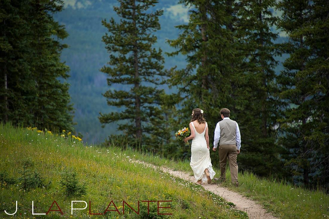 J. LaPlante Photo   Copper Mountain Wedding Photographer   Copper Mountain Wedding   Bride And Groom Portrait
