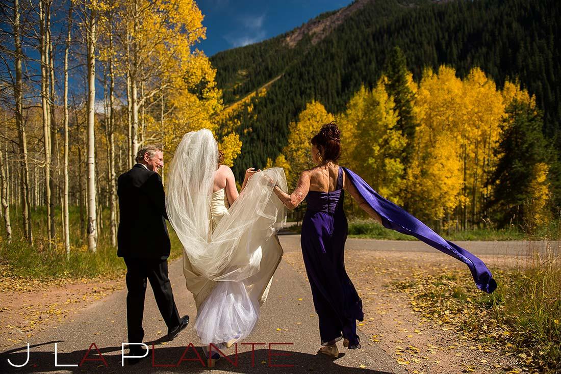 J. LaPlante Photo   Aspen Wedding Photographer   Maroon Bells Wedding   Fall Foliage Wedding