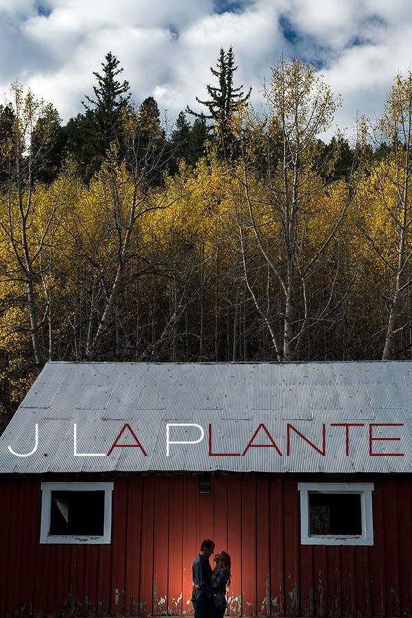 J. LaPlante Photo   Golden Engagement Photographer   Golden Gate Canyon Engagement   Fall Engagement Shoot   Barn Engagement Shoot