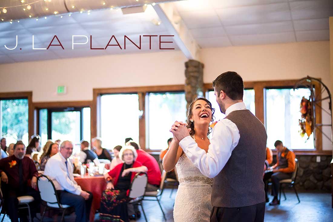 J. LaPlante Photo   Boulder Wedding Photographer   Shupe Homestead Wedding   First Dance