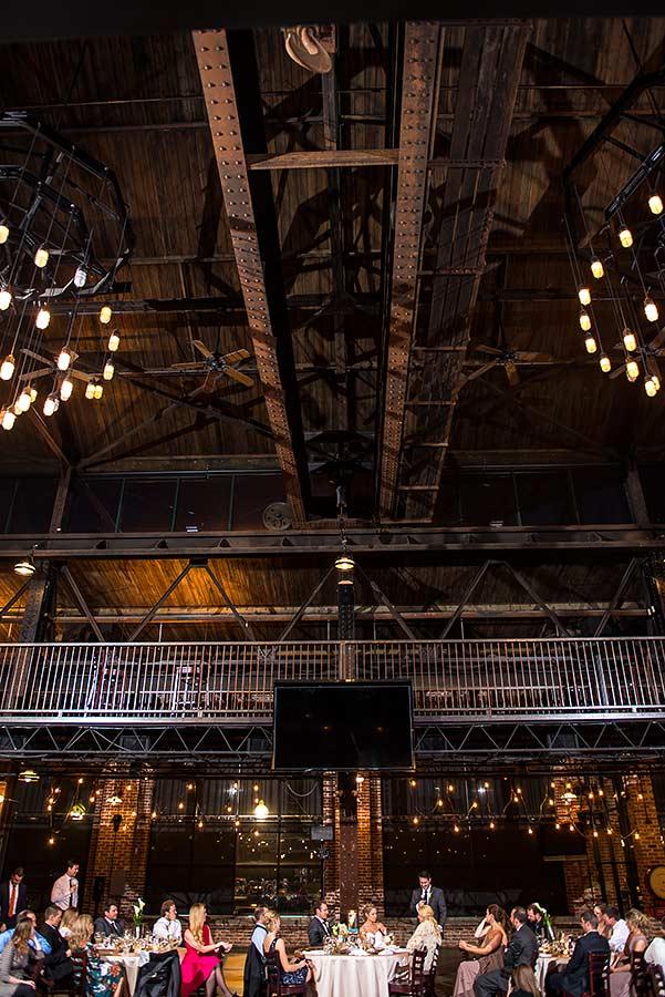 Best man toast   Mile High Station Wedding   Denver Wedding Photographer   J. La Plante Photo