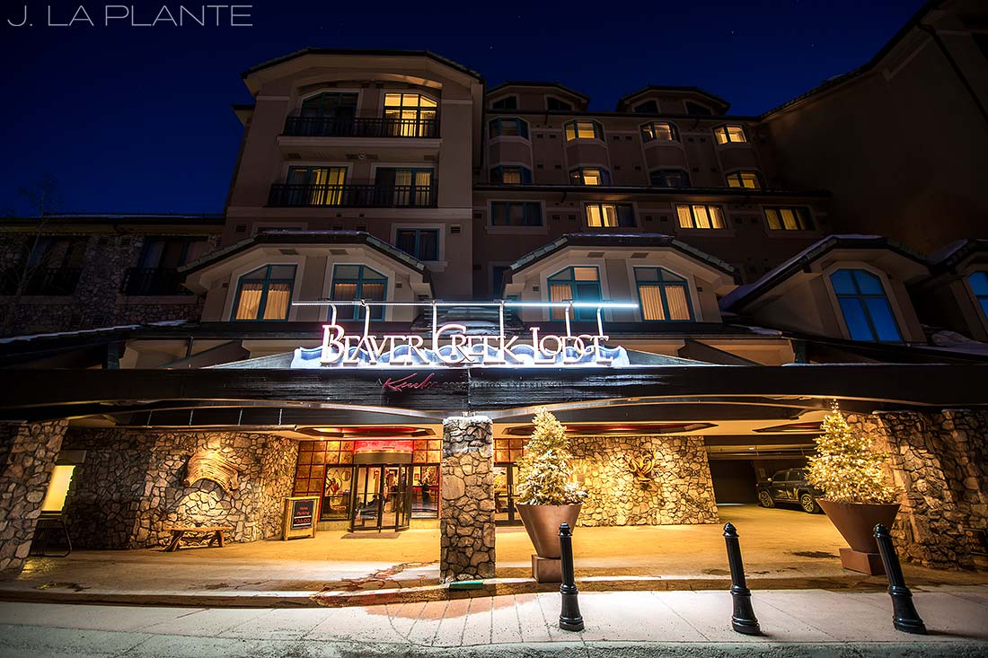 J. LaPlante Photo | Colorado Wedding Photographer | Beaver Creek Lodge Wedding | Beaver Creek Lodge Exterior Photo