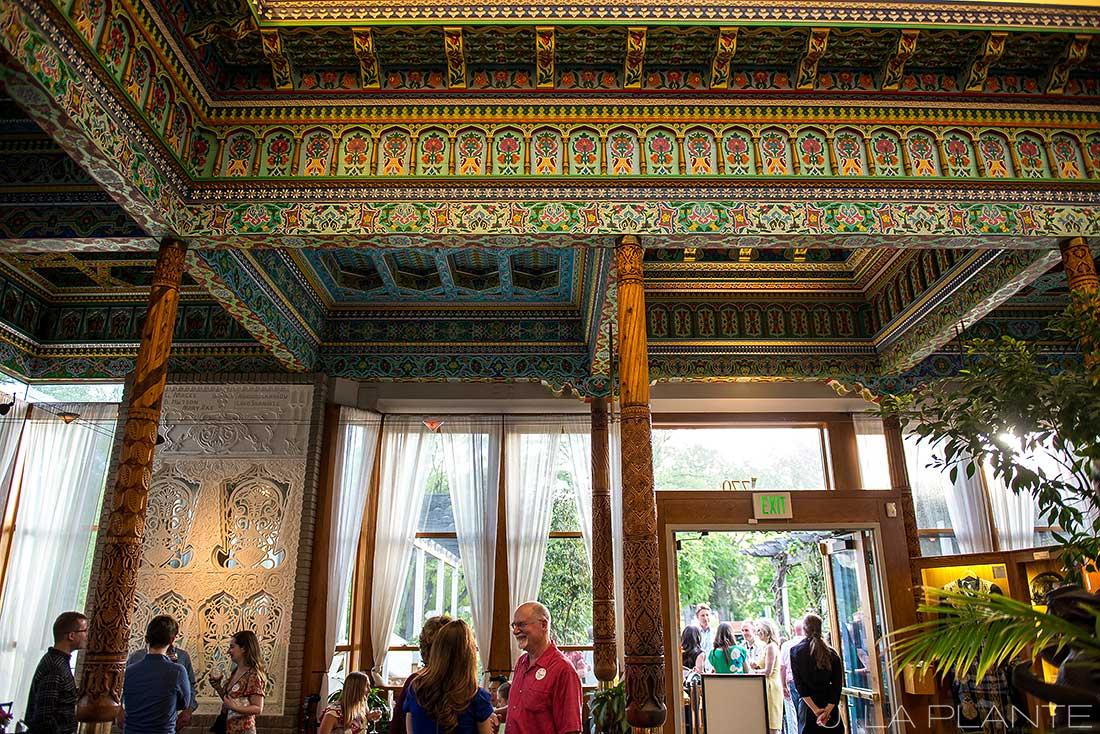J. La Plante Photo | Boulder Wedding Photographers | Dushanbe Tea House Engagement | Dushanbe Tea House Ceiling