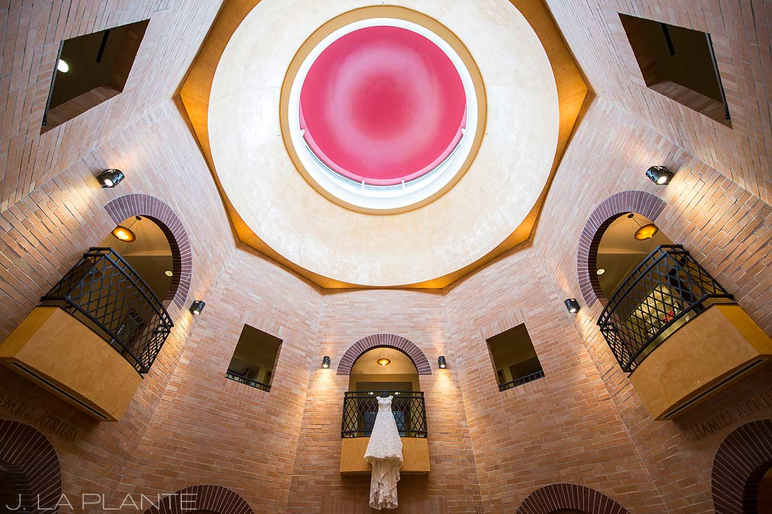 J. La Plante Photo | Denver Wedding Photographer | University of Denver Wedding | Fritz Knoebel Wedding | Wedding Dress