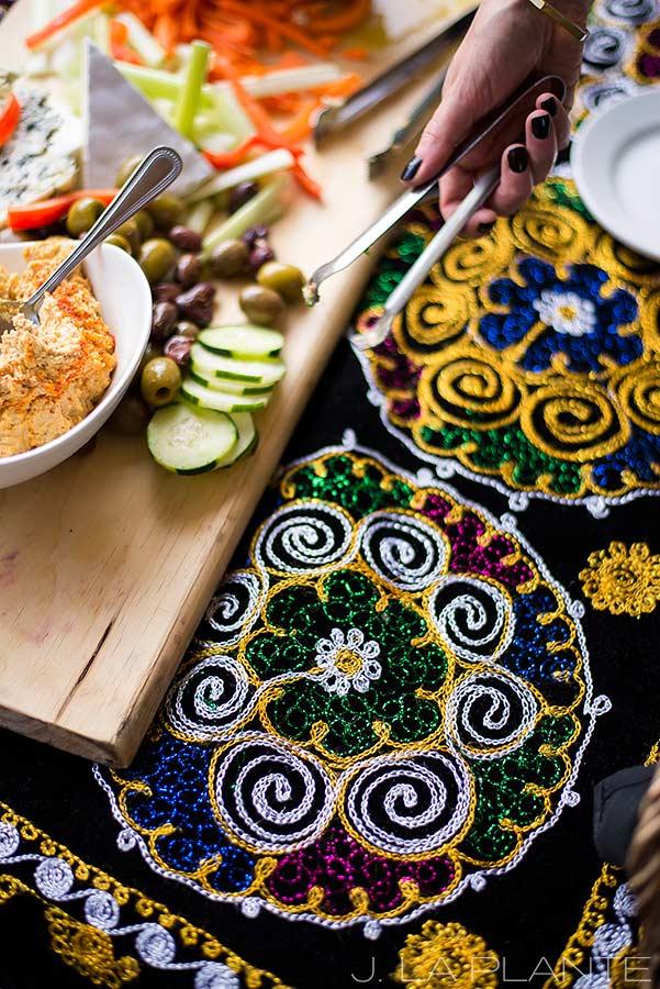 J. La Plante Photo | Boulder Wedding Photographers | Dushanbe Tea House Engagement | Dushanbe Tea House Decor and Food