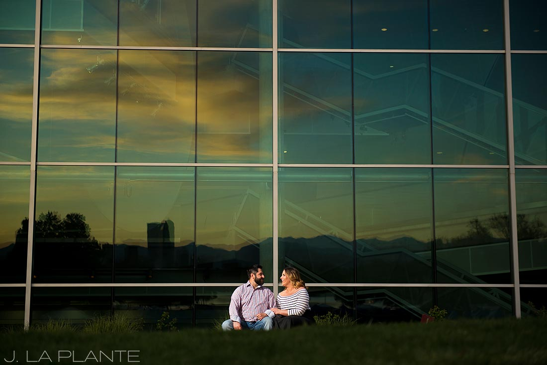 J. La Plante Photo | Denver Wedding Photographer | Denver City Park Engagement | Denver Museum Sunset