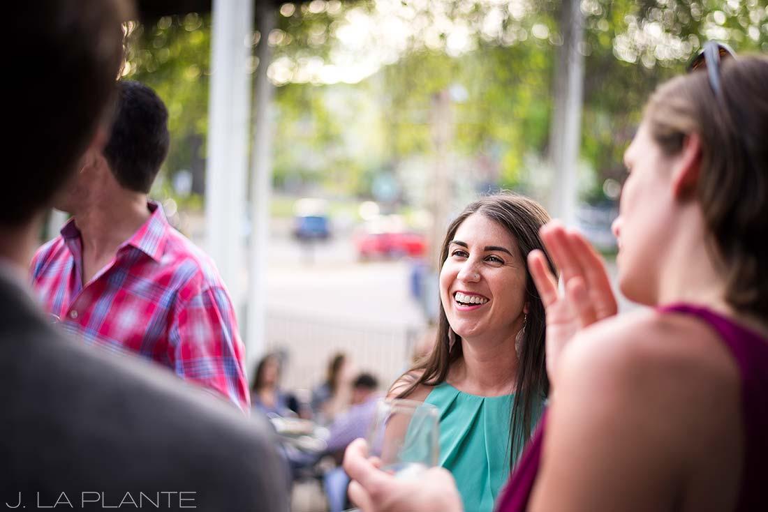 J. La Plante Photo | Boulder Wedding Photographers | Dushanbe Tea House Engagement | Bride To Be Mingling